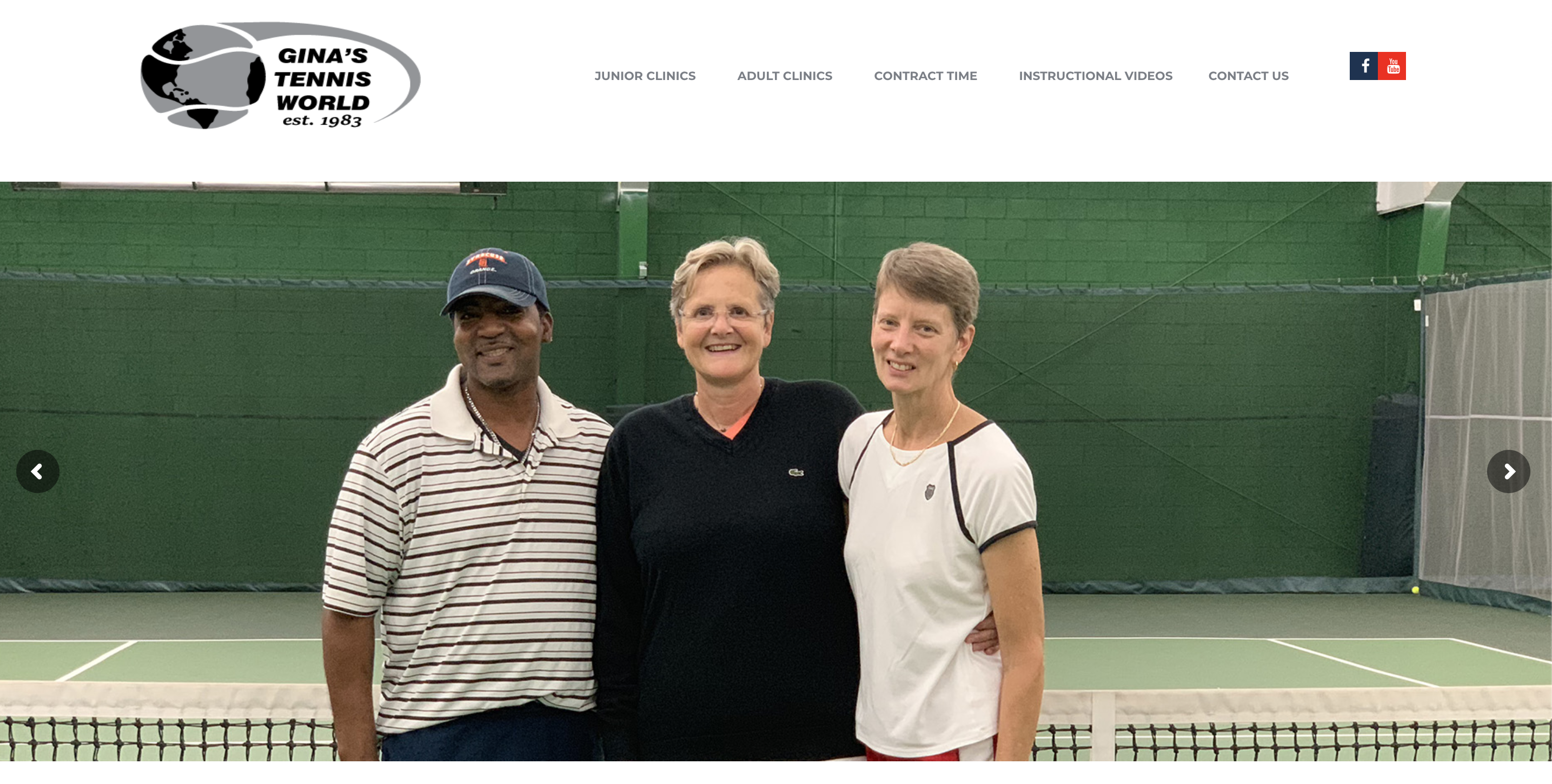 Kind Technology Services working with Gina's Tennis World